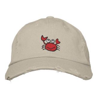 cute happy crab hat