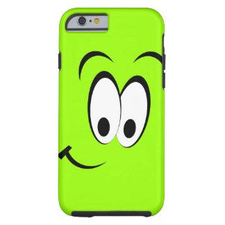 Cute Happy Face Tough iPhone 6 Case