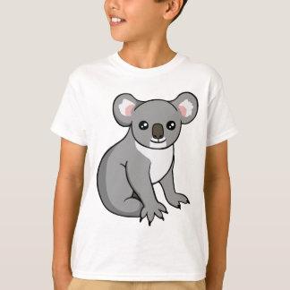 Cute Happy Grey Koala Drawing Unisex Kids T-Shirt