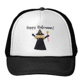 Cute Happy Halloween Witch Cap