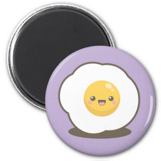 Cute Happy Kawaii Fried Egg Magnet