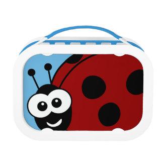 Cute Happy Ladybug Lunch Box