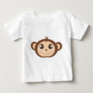 Cute Happy Monkey Cartoon T Shirt