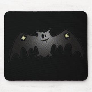CUTE & HAPPY PATCHY BAT MOUSE PAD