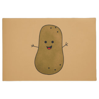 Cute Happy Potato Doormat
