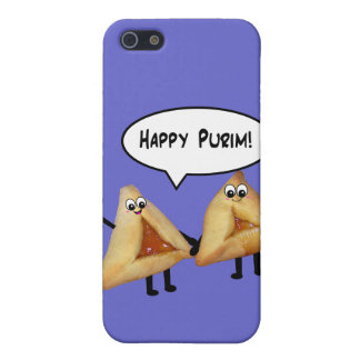 Cute Happy Purim Hamantaschen iPhone 5 Case