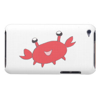 Cute Happy Red Crab iPod Touch Case-Mate Case