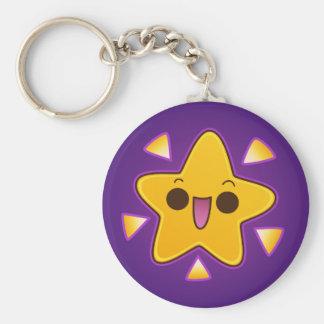 Cute Happy Shining Star Key Chains