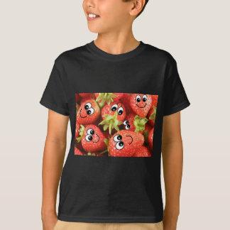 Cute Happy Strawberries T-Shirt