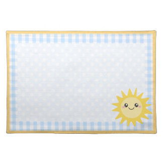 Cute Happy Sun Placemat