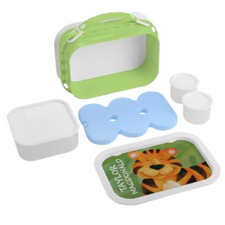 Personalised Tiger Lunchbox