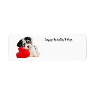 Cute Happy Valentine's Day Puppy