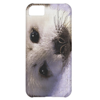 Cute Harp Seal Fantasy Art Wildlife Supporter Cover For iPhone 5C