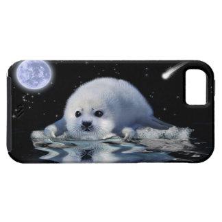 Cute Harp Seal Fantasy Art Wildlife Supporter iPhone 5 Case