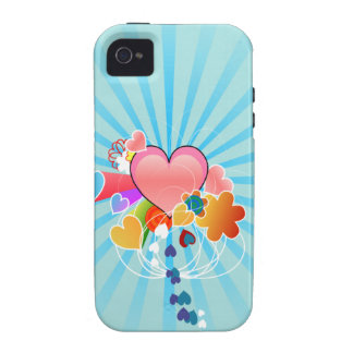 Cute Heart iPhone 4 Cases