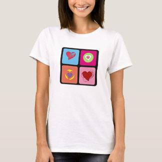 Cute Heart Cube T-Shirt