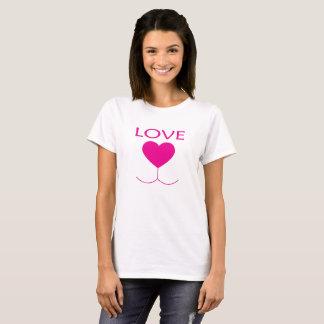 Cute Heart Nose T-Shirt