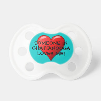 Cute Heart on Teal Personalized City or State Dummy