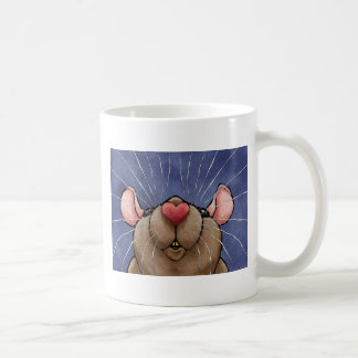 Cute Heart Rat Mug