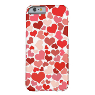 Cute Hearts Barely There iPhone 6 Case