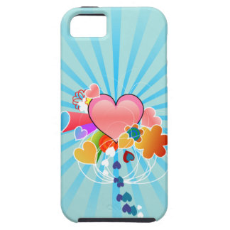 Cute Hearts iPhone 5 Cases