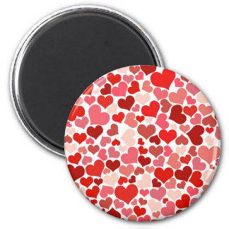 Cute Hearts Refrigerator Magnet