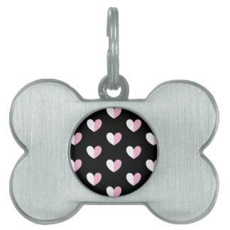 CUTE HEARTS PET ID TAG