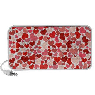 Cute Hearts Mini Speaker