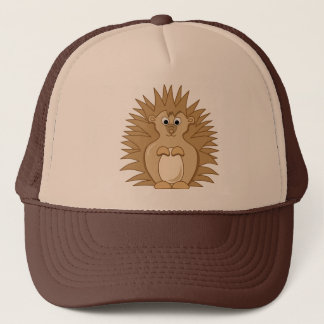 Cute Hedgehog Cartoon Animal Trucker Hat