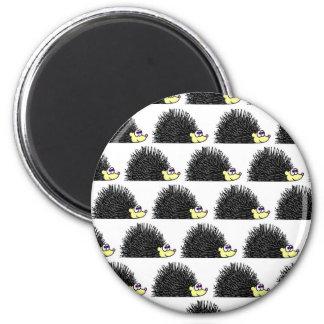Cute Hedgehog Cartoon Pattern Magnet