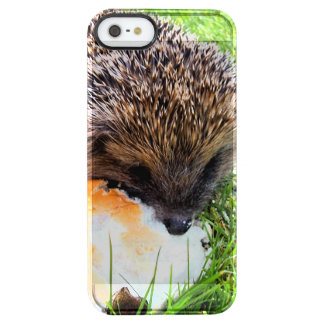 CUTE HEDGEHOG CLEAR iPhone SE/5/5s CASE