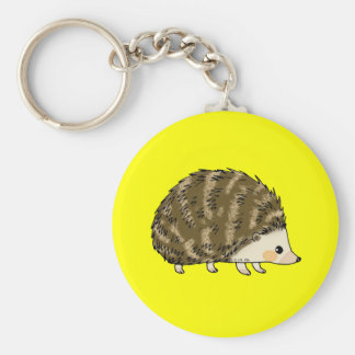 Cute hedgehog key chains