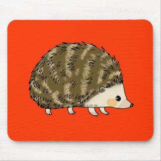 Cute hedgehog mouse mat