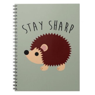 Cute Hedgehog Notebook