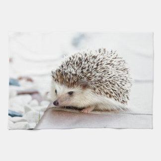 Cute Hedgehog Tea Towel