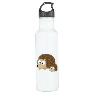 Cute Hedgehogs 710 Ml Water Bottle