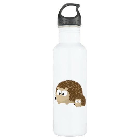 Cute Hedgehogs 710 Ml Water Bottle
