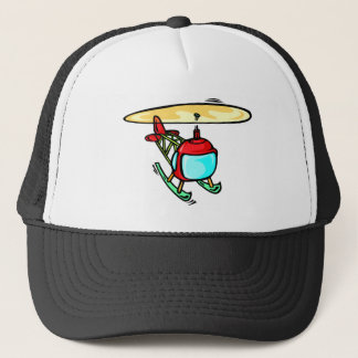 Cute Helicopter Trucker Hat