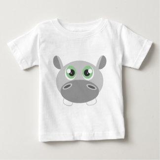 Cute Hippo Cartoon Baby T-Shirt