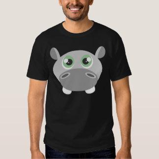 Cute Hippo Cartoon Tshirt