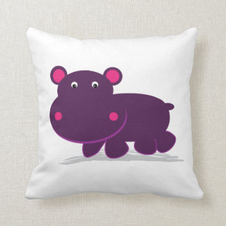 Cute Hippo Cushion