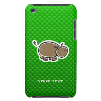 Cute Hippo Green iPod Touch Cover