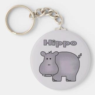 Cute Hippo Key Chains