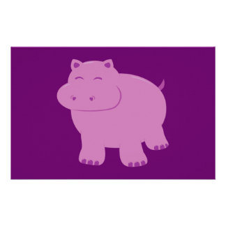 Cute Hippo Stationery