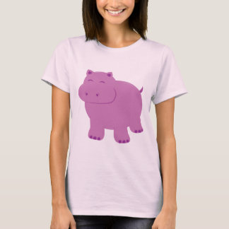 Cute Hippo T-Shirt