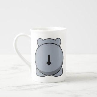 Cute hippo tea cup