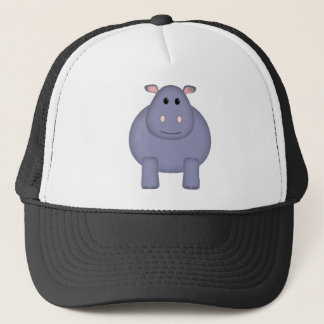 Cute Hippo Trucker Hat