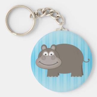 Cute Hippopotamus Keychain