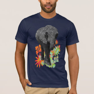 Cute Hippy Elephant tees