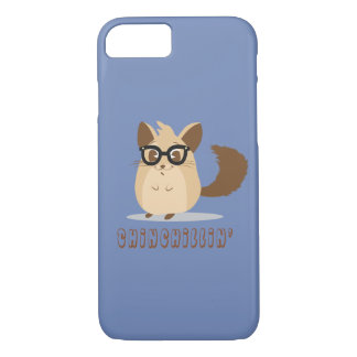 Cute Hipster Chinchilla Phone Case